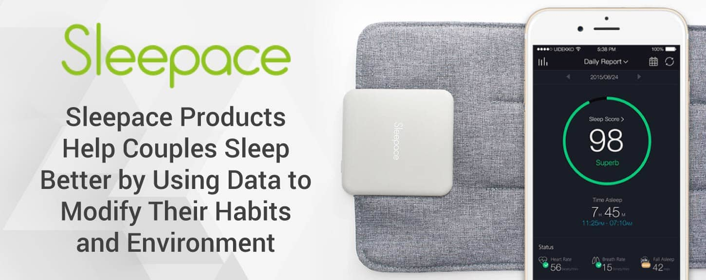 Sleepace Products Help Couples Sleep Better by Using Data to Modify Their Habits and Environment