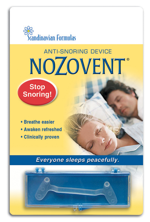 Dispositif anti-ronflement Nozovent